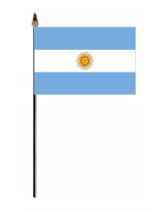 Argentina Country Hand Flag - Small.